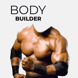 Bodybuilder Face Touch