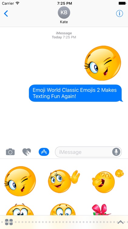 Classic Emojis - More Smileys