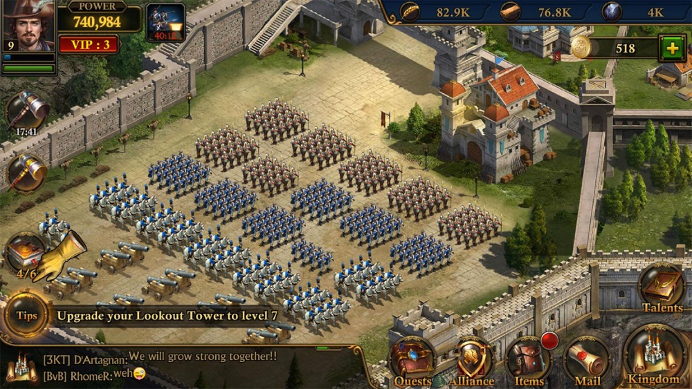 Guns of Glory: MMO Empire War App for iPhone - Free Download
