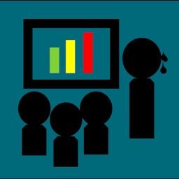 発話スピード計測 - プレゼン、スピーチの練習サポート