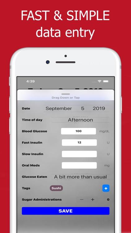 Diabetes Tracker : Diabeto Log screenshot-9