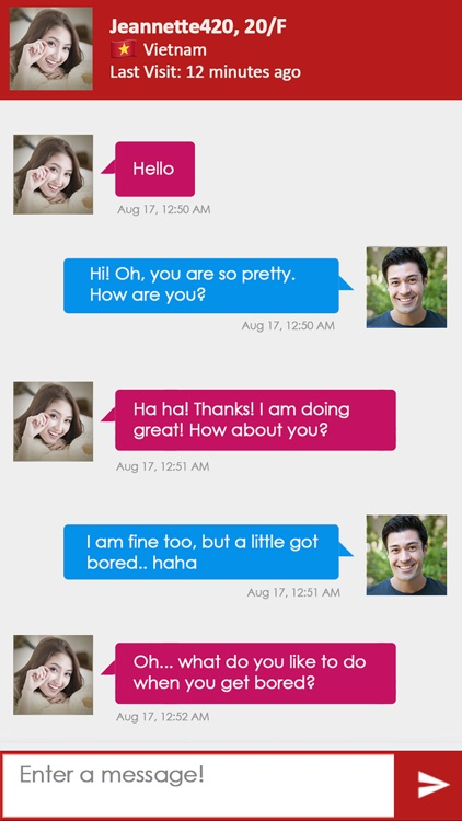 Timhop™ Asian Dating screenshot-3