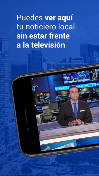 Univision 23 Miami screenshot 1