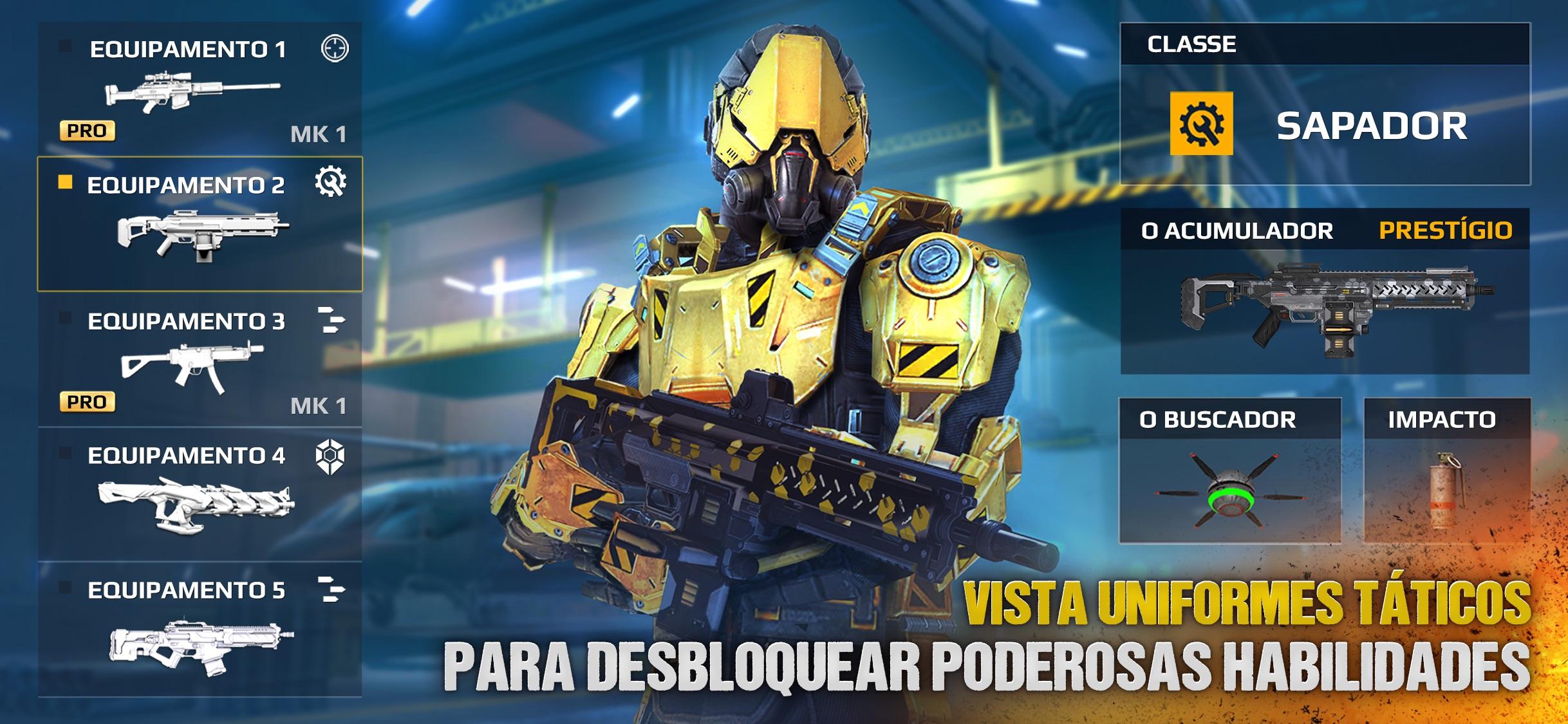 Screenshot do app Modern Combat 5
