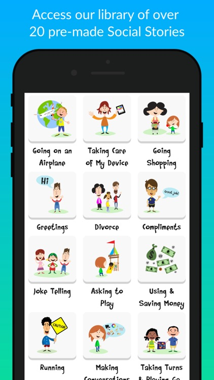 Social Story Creator & Library screenshot-6