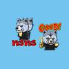 Grey Wolf Stickers