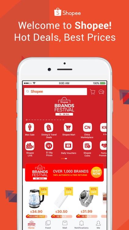 Shopee 新加坡 screenshot-0