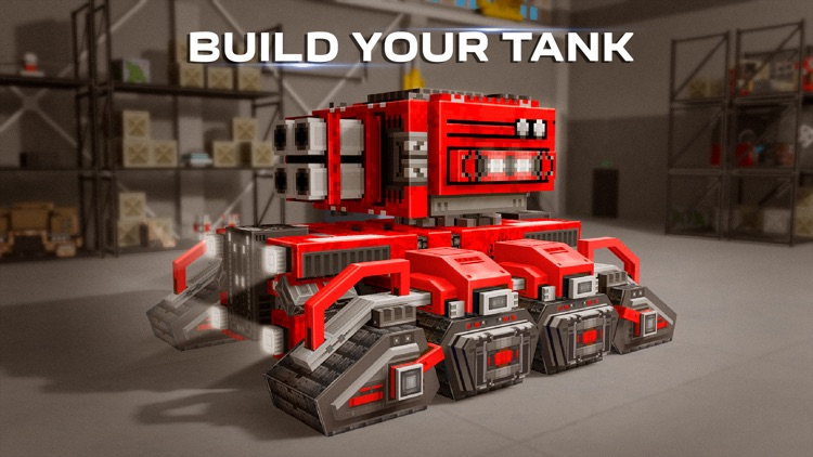 Blocky Cars Online - tank wars screenshot-3