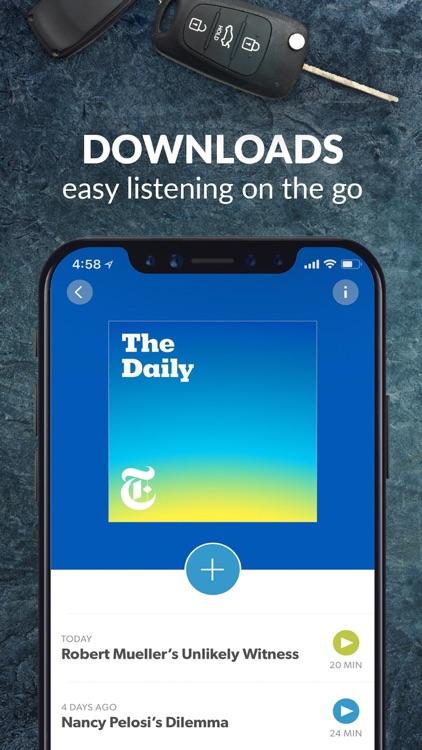 Stitcher for Podcasts screenshot-5