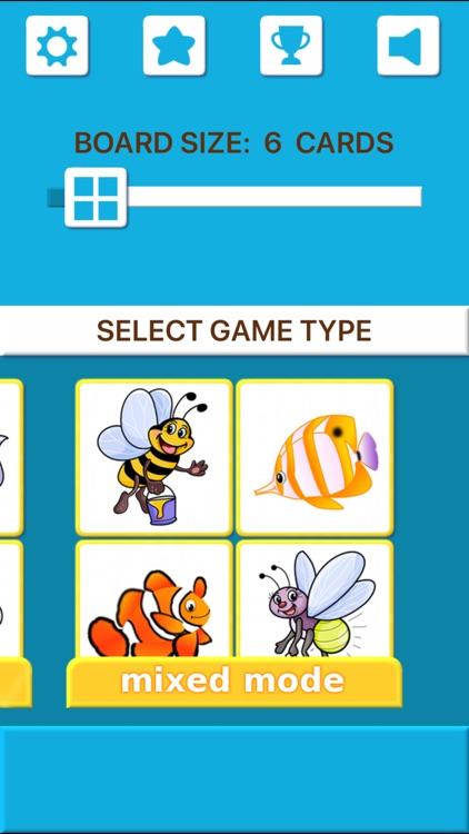 Animal Memory Matching Games screenshot-7