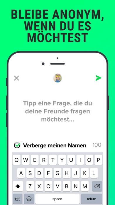 Herunterladen F3 - anonyme Fragen, Chat für Android