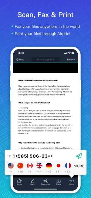 CamScanner-Scanner to scan PDF on the App Store