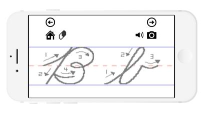 筆記体練習帳のおすすめ画像3