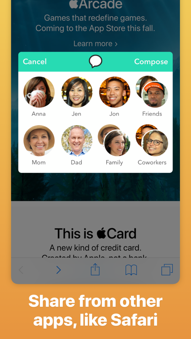 Group Text+ screenshot four