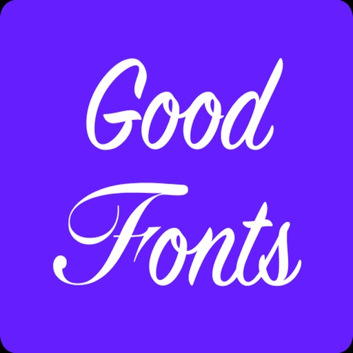 Good Fonts - Fancy cool texts