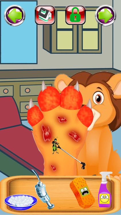 Baby Pet Foot Doctor Girl Game screenshot-3