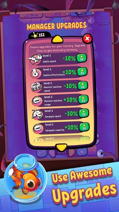 Idle Monster Factory screenshot 5