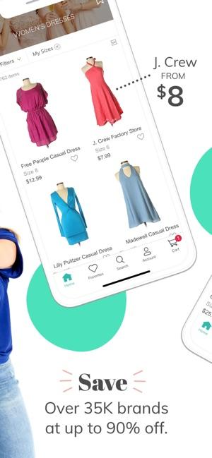 my unique thrift store app