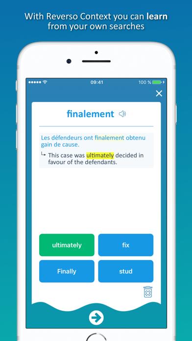 Reverso translate and learn Screenshot