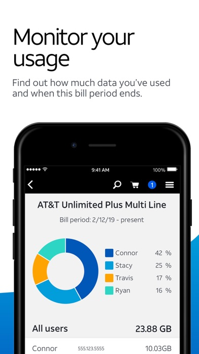 download myAT&T apps 1
