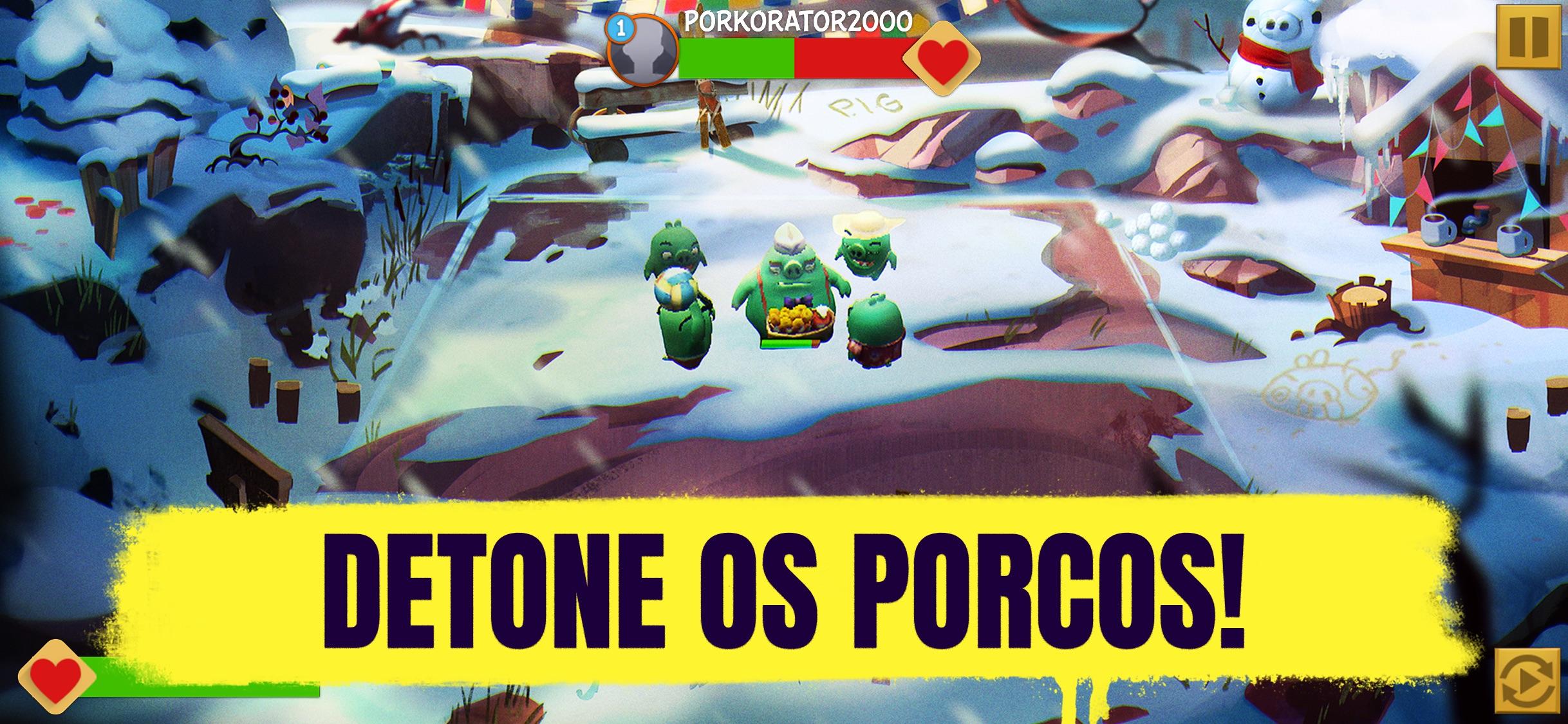 Screenshot do app Angry Birds Evolution