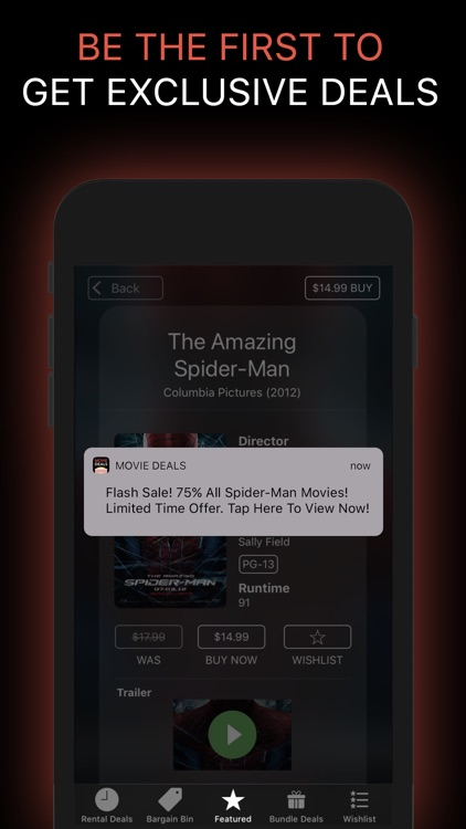 Movie Deals: Cheap Movies App screenshot-6