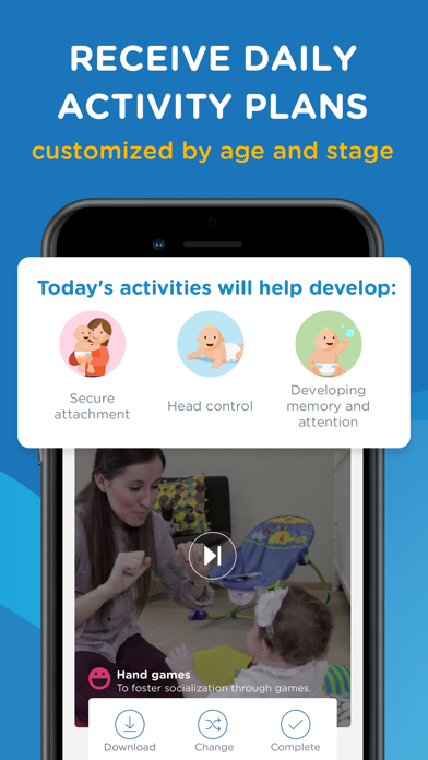 Screenshot for Kinedu: Baby Development Plan in United States App Store