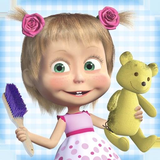 Masha and the Bear Clean House