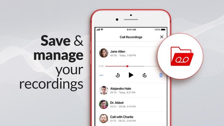 Call Recorder & Voice Memo screenshot-3