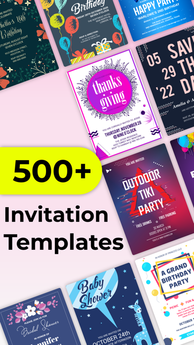 Invitation Maker Design Card App Price Drops
