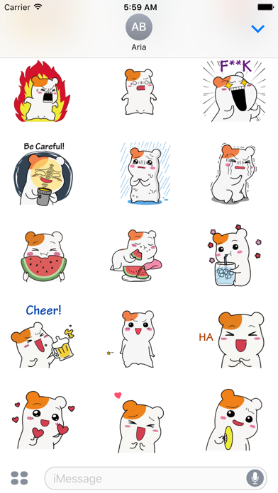 Summer of Hamster Sticker screenshot 3
