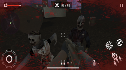 Survival Sniper Zombie Army 3D screenshot 2