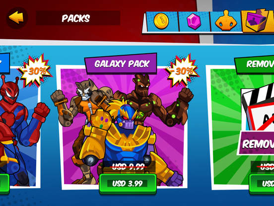 Robot Superhero: Boxing Games screenshot 6