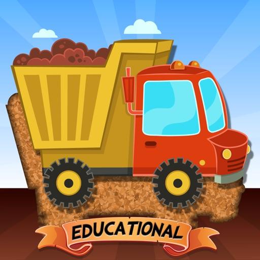 Пазлы-машины для детей – образовательная версия