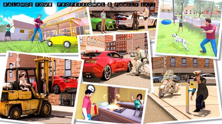 Happy Virtual Family Simulator screenshot-4