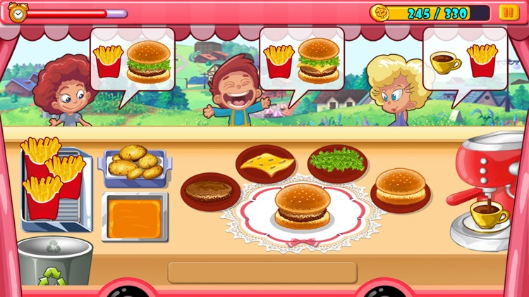 Crazy Chef - Ice Cream Truck screenshot-3