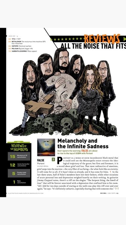 Decibel Magazine - America's Heavy Metal Monthly screenshot-4