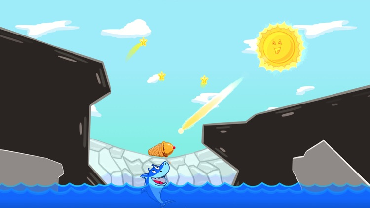 Ice Cream Mixer: Shark Games screenshot-0