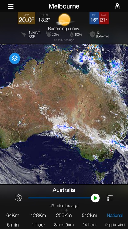 AUS Radar: WeatherAlert