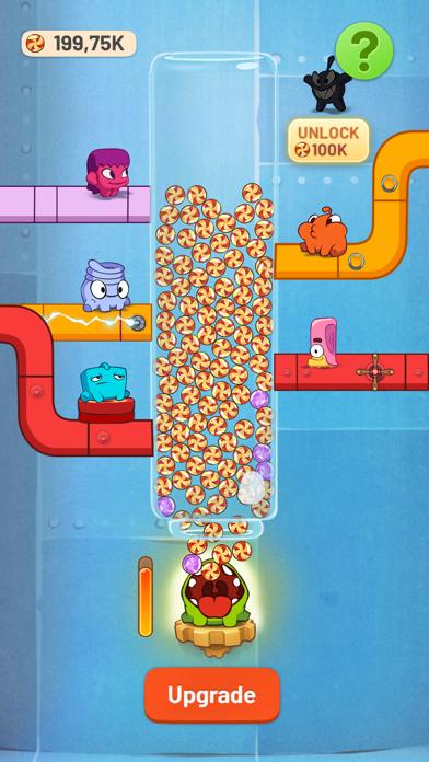 Om Nom Idle Candy Factory screenshot 3