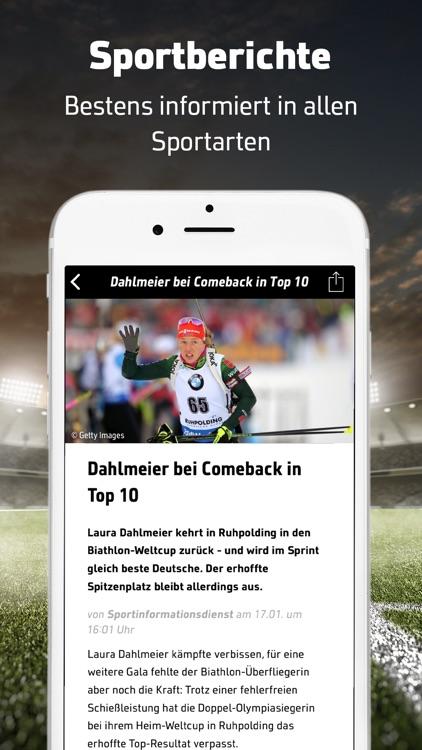 SPORT1: Sport & Fußball News screenshot-4