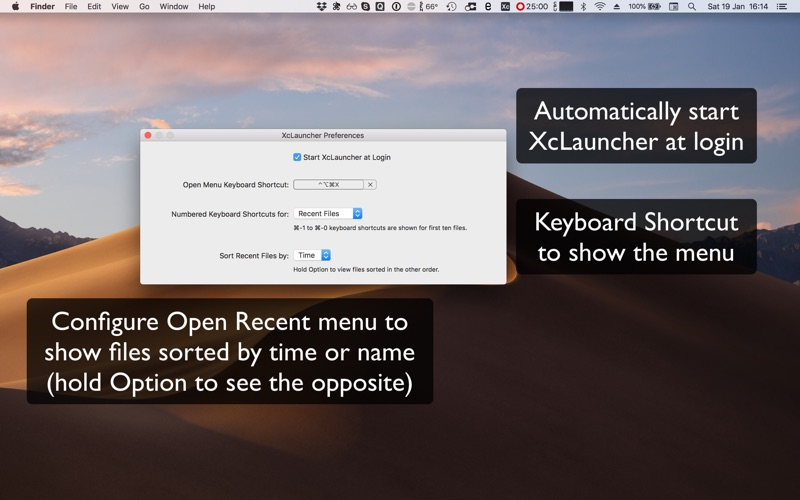 XcLauncher for Mac