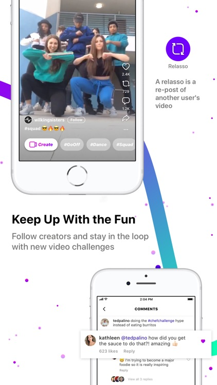 Lasso – short, fun videos screenshot-3