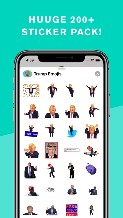 Trump Stickers and Trumpmoji screenshot-3