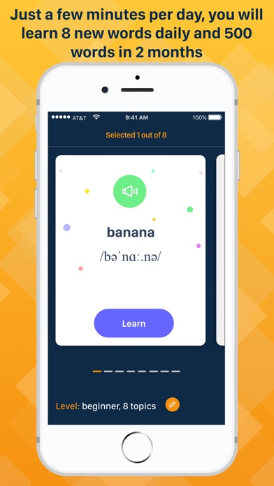 Screenshot for Learn English with iLamaster in United States App Store