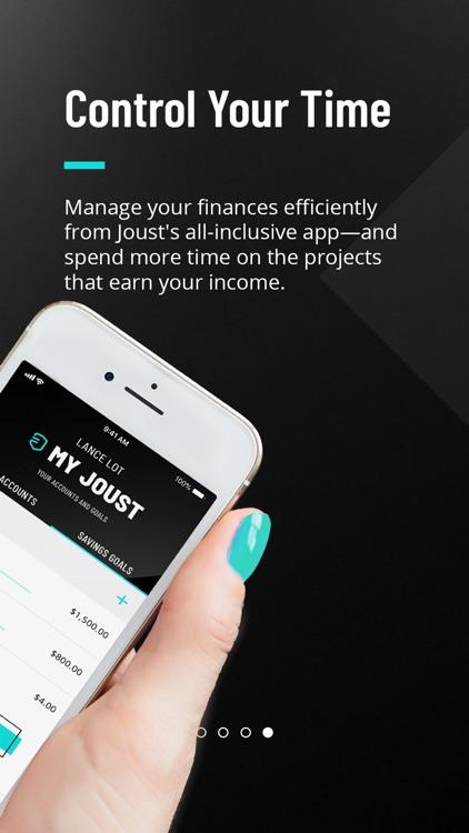 Joust - Executive Banking screenshot-3