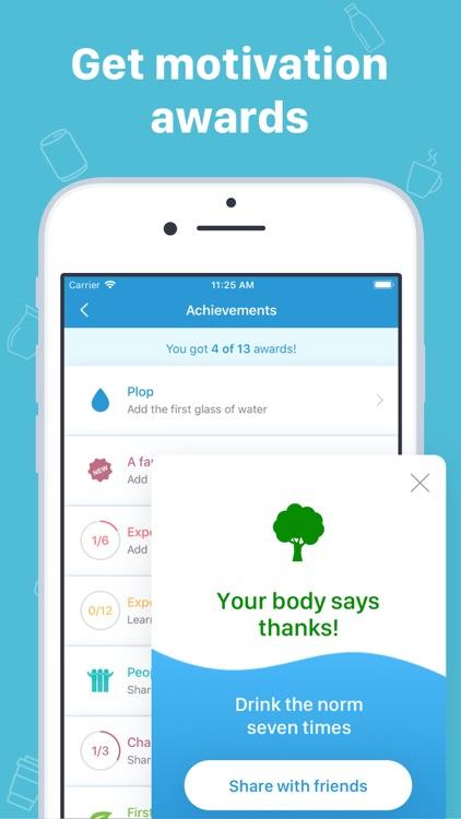 My Water: Daily Drink Tracker screenshot-4