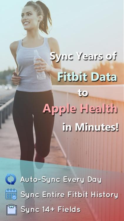 Fitbit to Apple Health Sync screenshot-0