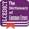 LCEDict -Common Errors Dict