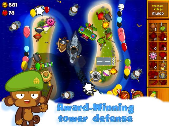 Bloons Monkey City iPad app afbeelding 2